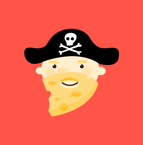 Captain Cheesebeard - Illustration